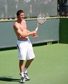 Marat Safin Playing Tennis