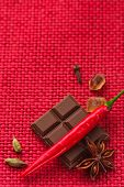 Spicy Chocolate. poster