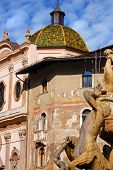 Cathedral Square - Trento Italy - Detail