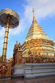 Wat Phrathat Doi Suthep In Chang Mai,thailand