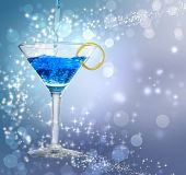 Cocktail azul