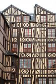 Rouen - Half-timbered Buildings