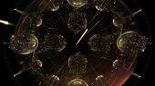 Universal Time, 3D Clock Fractal
