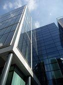 Brand New Modern Glass Building poster