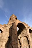 Baths of Carcalla in Rome, Italy