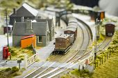Model Railway Station