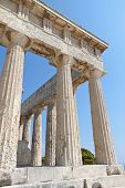 Ancient Greek temple at Aegina, Greece