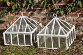 white cloches