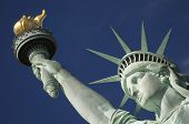 stock photo of statue liberty  - Statue of Liberty close - JPG