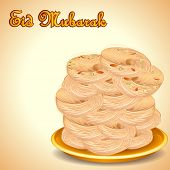 picture of halwa  - illustration of sewain for Eid Mubarak  - JPG