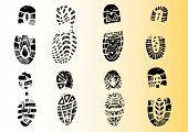 Detailed Shoeprints