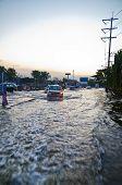 The Worst Flooding In  Bangkok, Thailand