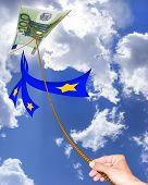Постер, плакат: воздушные змеи евро