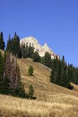 stock photo of beartooth  - Scenic landscape on the way to beartooth highway - JPG