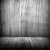 plano de fundo do espaço de madeira