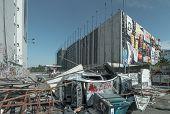 ISTANBUL - 8. Juni: Atatürk Kultur Center AKM nach schweren Protesten in der Türkei am 8. Juni 2013 in Ista