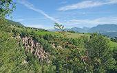 Loam Pyramids,Ritten,South Tyrol,Italy