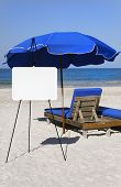Beach Side Whiteboard