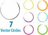 círculos de Vector