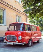 Retro Car Minivan