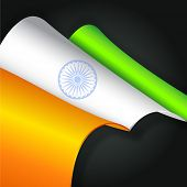 picture of indian independence day  - Creative Indian Independence Day or Republic Day background - JPG