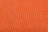 Orange Raffia Texture