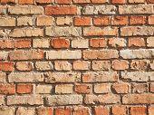 Wall Made Of Bricks Deification