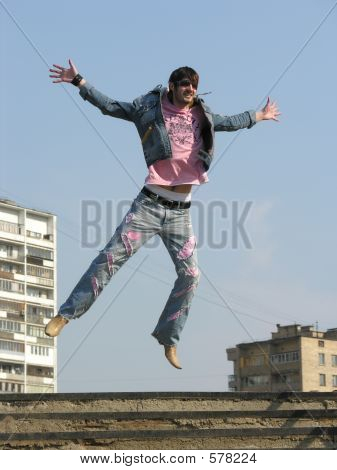 poster of Jump Man In City