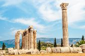 picture of olympian  - The Temple of Olympian Zeus in Athens  - JPG