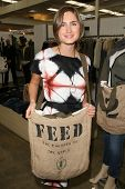 Lauren Bush niece of President George W. Bush  at the FEED LA Launch Party. Fred Segal, Santa Monica