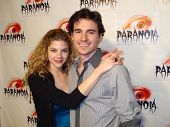 Rebekah Brandes and Daniel Bonjour at the Paranoia Horror Film Festival. Queen Mary, Long Beach, CA.