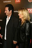 Rob Morrow and Debbon Ayer  at TV Guide Magazine's Sexiest Stars Party. Sunset Tower Hotel, Los Ange