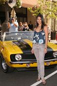 Roselyn Sanchez at a press conference by Rally for Kids With Cancer Scavenger Cup to Name Eva Longor