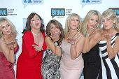Cast of 'Real Housewives of Orange County' at Bravo's 'The A-List Awards'. The Orpheum Theatre, Los Angeles, CA. 04-05-09