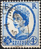 Queen Elizabeth By Dorothy Wilding On Ultramarine