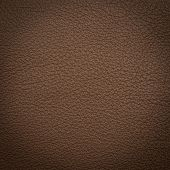 Brown leather macro shot