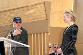 Steven Spielberg and Cate Blanchett   at the ceremony honoring Cate Blanchett with the 2,376th star on the Hollywood Walk of Fame. Hollywood Boulevard, Hollywood, CA. 12-05-08
