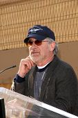 Steven Spielberg   at the ceremony honoring Cate Blanchett with the 2,376th star on the Hollywood Walk of Fame. Hollywood Boulevard, Hollywood, CA. 12-05-08