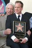 Donald Sutherland and Kiefer Sutherland   at the Ceremony Honoring Kiefer Sutherland with the 2,377th Star on the Hollywood Walk of Fame. Hollywood Boulevard, Hollywood, CA. 12-09-08