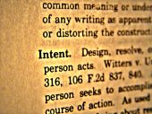 Dictionary Intent
