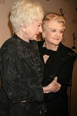 Bea Arthur and Angela Lansbury   at the Academy of Television Arts & Sciences Hall of Fame Ceremony. Beverly Hills Hotel, Beverly Hills, CA. 12-09-08