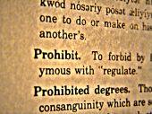 Dictionary Prohibit