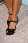 Vida Guerra's shoes   at Spike TV's 2008 'Video Game Awards'. Sony Pictures Studios, Culver City, CA. 12-14-08