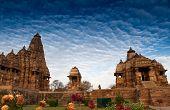 Western Temples Of Khajuraho, India