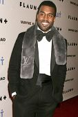Kanye West   at Flaunt Magazine's 10th Anniversary Party And Holiday Toy Drive. Wayne Kao Mansion, H