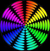 Spectral Color Circles
