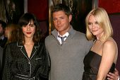 Jessica Alba with Jensen Ackles and Jaime King  at the Los Angeles Special Screening of 'My Bloody V