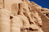 The Abu Simbel Temple
