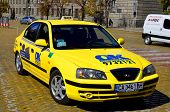 Taxi car In Sofia