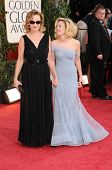 Jessica Lange and Drew Barrymore at the 66th Annual Golden Globe Awards. Beverly Hilton Hotel, Beverly Hills, CA. 01-11-09